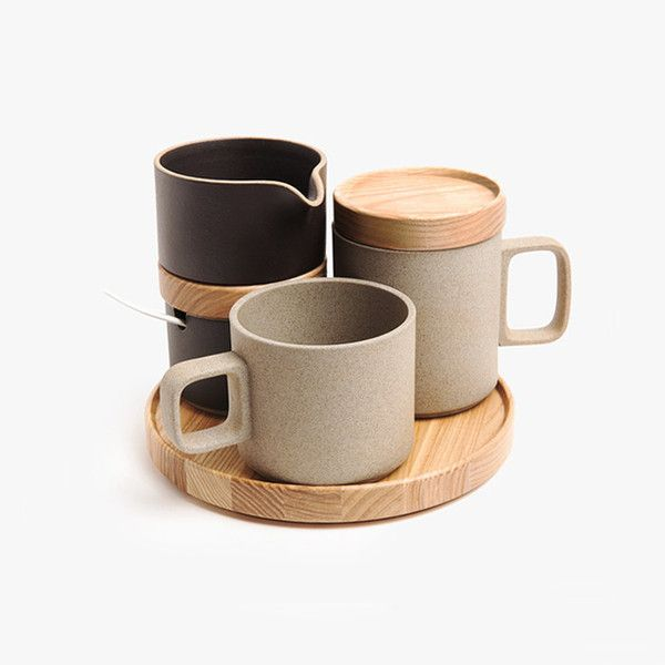 Hasami Brown Porcelain Mug