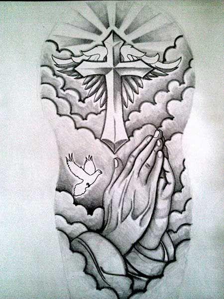 272 besten tattoo religi s kreuze jesus engel angel bilder. Black Bedroom Furniture Sets. Home Design Ideas