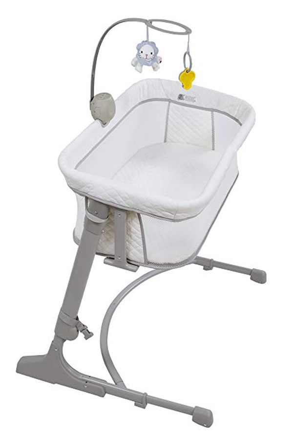 Arm S Reach Concepts The Versatile Co Sleeper White Grey One Size Bedside Bassinet Baby Co Sleeper Co Sleeper Bassinet
