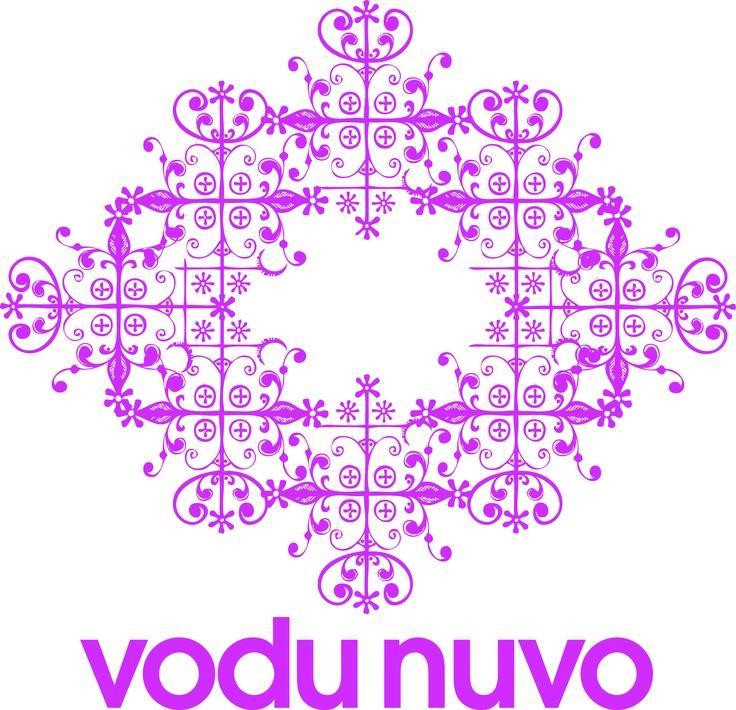 """The Vodu spirit Legba, the intermediary between the human and spirit realms serves as a representation of Vodu Nuvo's unity of ancient tradition and the modern world. Like every Vodu spirit, Legba is represented by a unique symbol or """"Verse"""". The Vodu Nuvo logo uses the Legba Vevee as its symbolic heart, drawing inspiration from the intricate beauty of the Vodu faith."""
