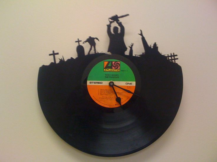 Zombie Clock by Moral Mustache on Etsy