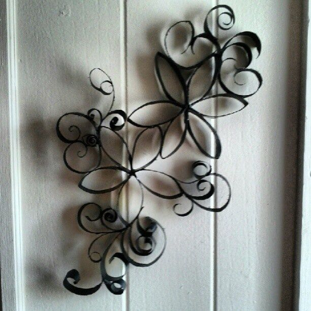 Toilet Paper Roll Art Decor - Made by me! :) | Some cool ideas