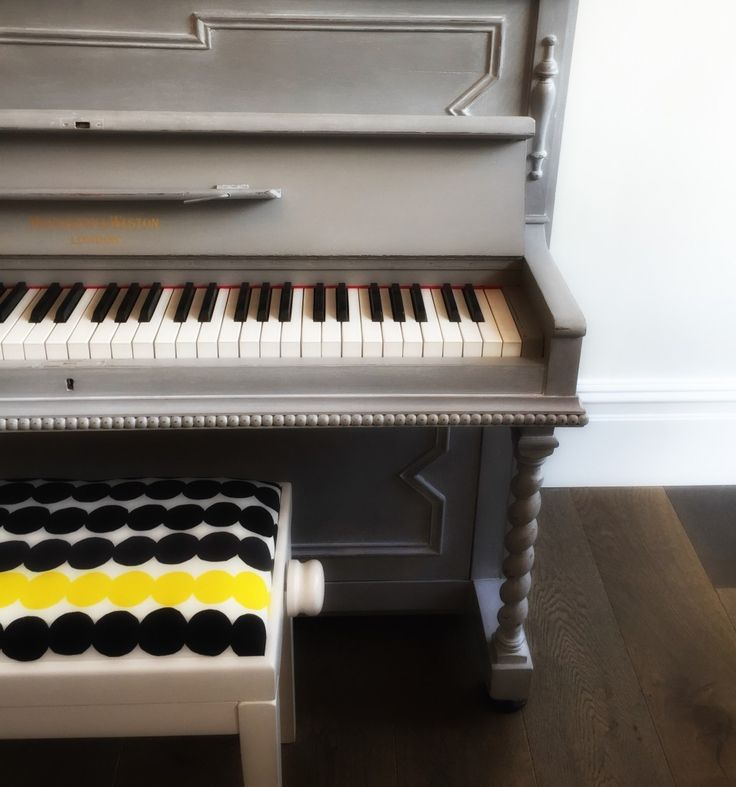The Piano Shop Bath has been working hard to bring our customers a wide range of finishes. We currently have a brass grand piano, a hand painted John Broadwood piano in Midnight Blue with a metallic wax finish, and a number of painted pianos. We also have a range of painted piano stools and bespoke Marrimekko fabric piano stools on display around the showroom.