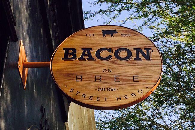 Bacon on Bree - 217 Bree Street, Cape Town.