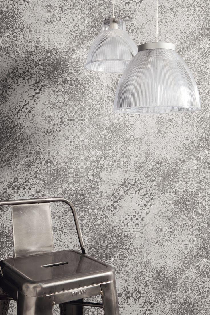 Collection : METAPHORE / Mosaïque, zoom #papierpeint #wallpaper #decoration #interieur #metaphore #originale #inspiration #Collection2015 #nouveauté #2015 #Caselio http://www.caselio.fr