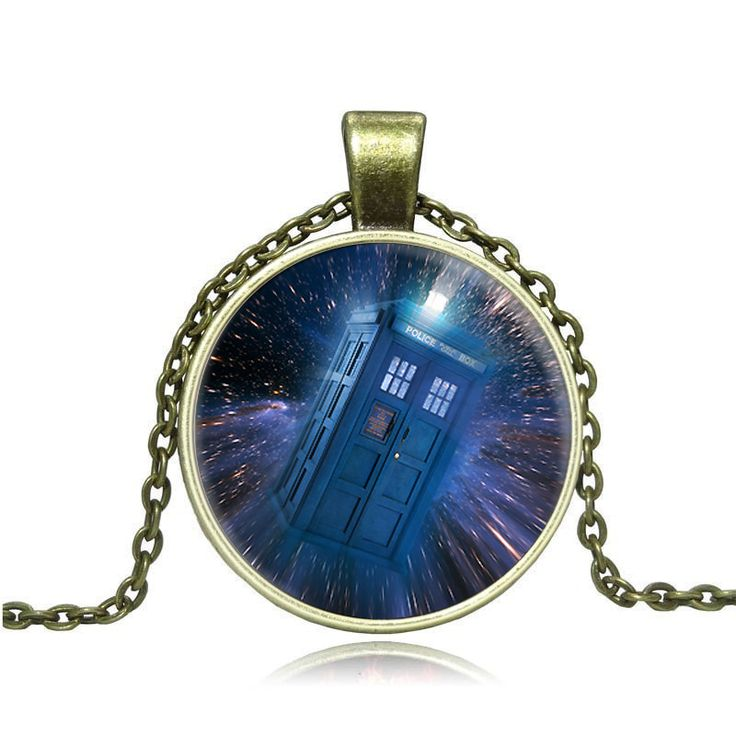 Trade jewelry factory direct doctor who calls police box time glass necklace  Y006-in Pendant Necklaces from Jewelry & Accessories on Aliexpress.com | Alibaba Group