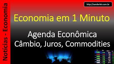 Economia em 1 Minuto - Sanderlei: MDIC: balança comercial registrou superávit de US$...