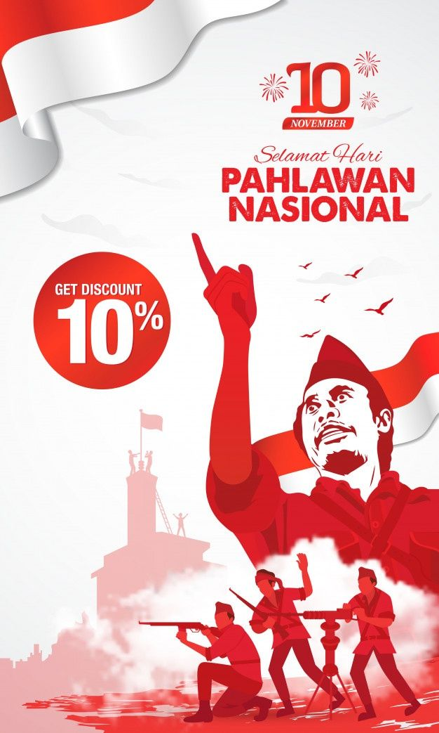 Hari pahlawan download free clip art with a transparent