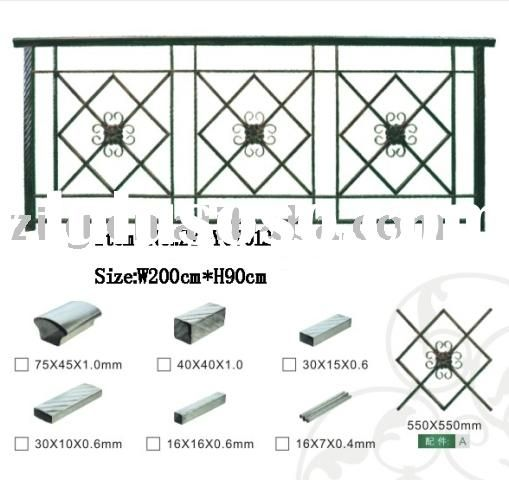 outdoor iron steel balcony railing designs for sale - Price,China ...