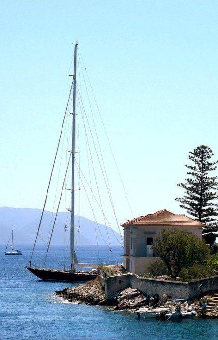 Fiskardo, Kefalonia Island, Greece (by jesssie on Flickr)