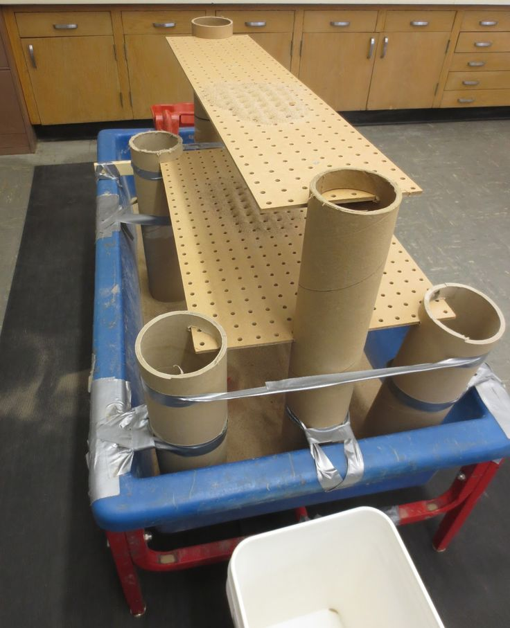 Last week I introduced a  Pegboard Platform .  After building this, I still had pegboard and tubes left over, so I decided to take the appar...