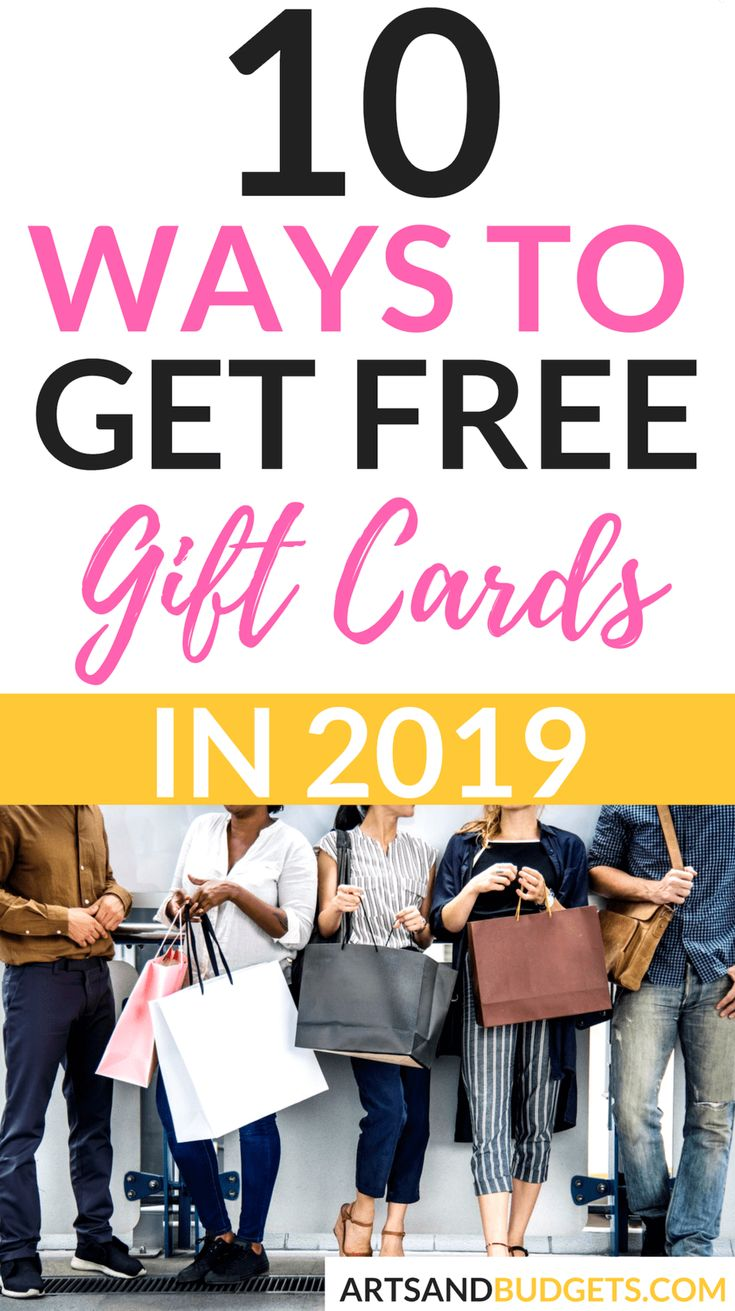 Earn Gift Cards Free Ideas