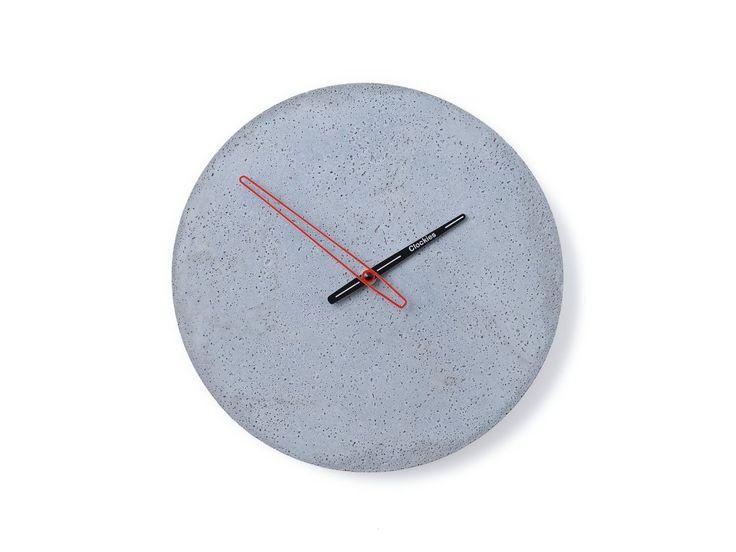 Design concrete clocks - Clockies 1701