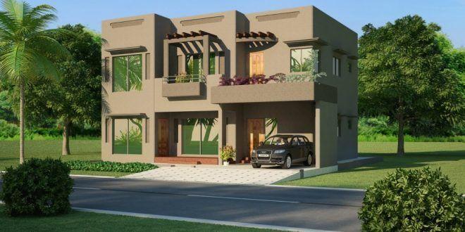 منازل بسيطة وجميلة House House Design House Elevation