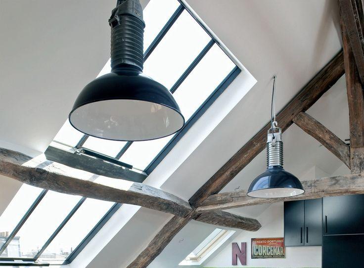 Assez Les 25 meilleures idées de la catégorie Fenêtre de toit sur  LK78