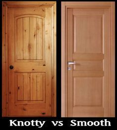 Knotty alder doors compared to smooth doors. Everything you ever wanted to & 29 best Knotty Alder Doors images on Pinterest | Knotty alder ... pezcame.com