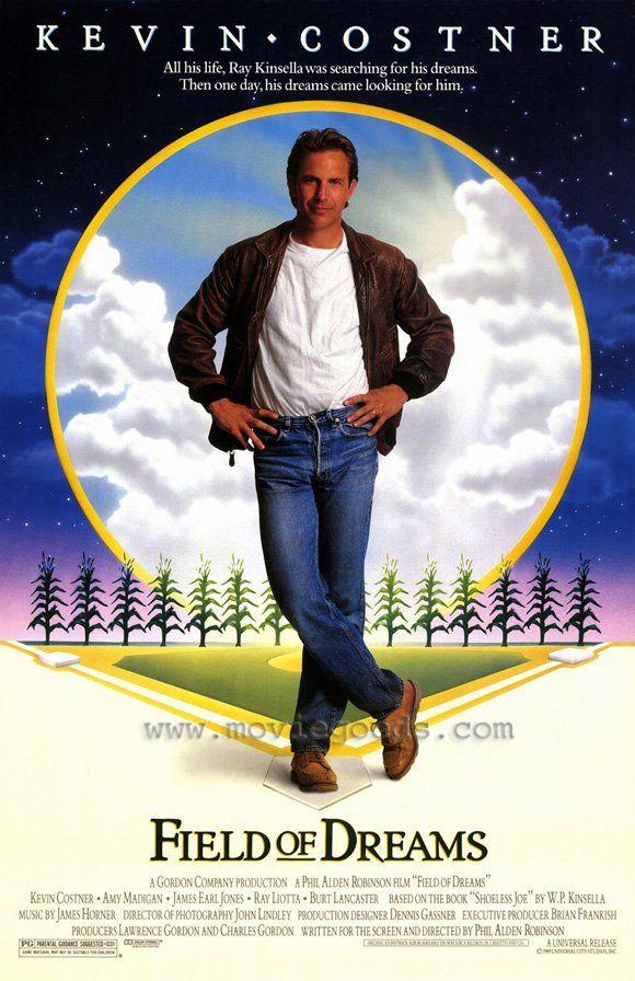 Field of DreamsFilm, Great Movie, Kevin Costner, Dreams 1989, Buildings, Fields Of Dreams, Basebal Seasons, Favorite Movie, Posters