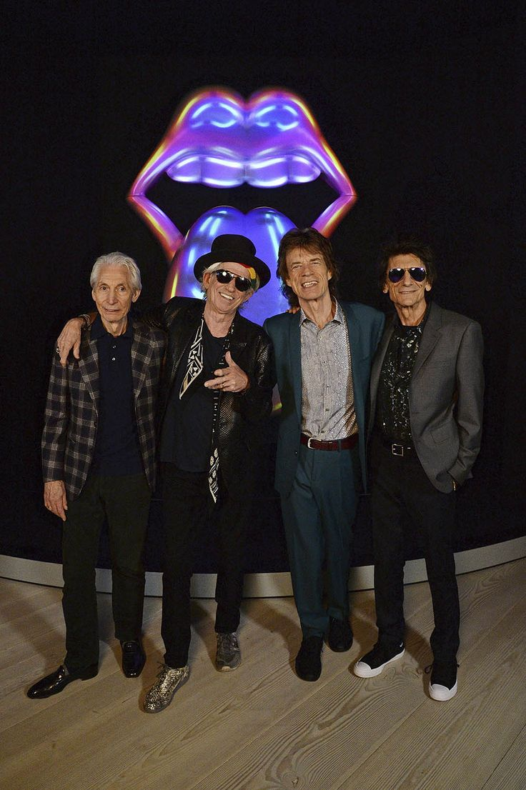 Right now, Mick, Keith, Charlie and Ronnie are at the launch of @Exhibitionism at London's Saatchi Gallery! Exhibitionism opens tomorrow and is an immersive exhibition, taking over 9 galleries. It's the world's largest ever touring exhibition. Come and see it!hyperurl.co/ExhibitionismTickets?IQid=tblr
