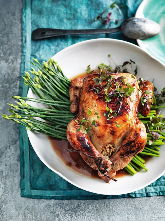 Coconut & Lime Roasted Chicken via Donna Hay #recipe