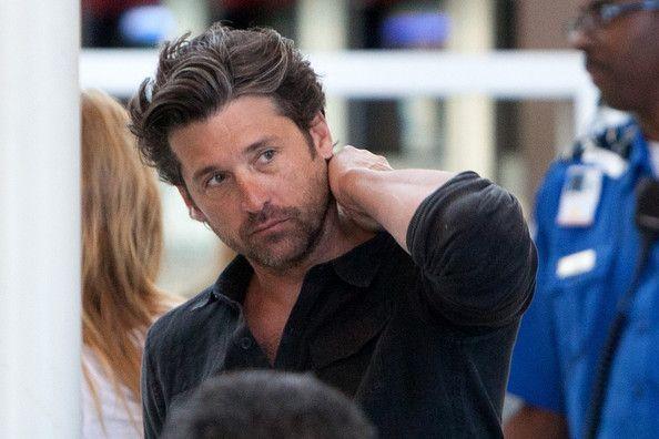 Patrick Dempsey Family | Patrick Dempsey Patrick Dempsey prepares to depart LAX (Los Angeles ...