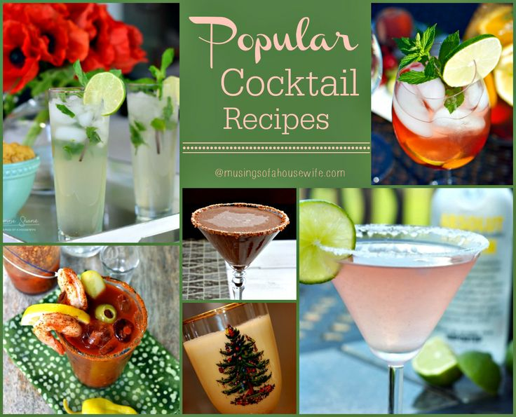 The 25 best ideas about popular cocktails on pinterest for Fun alcoholic drink recipes