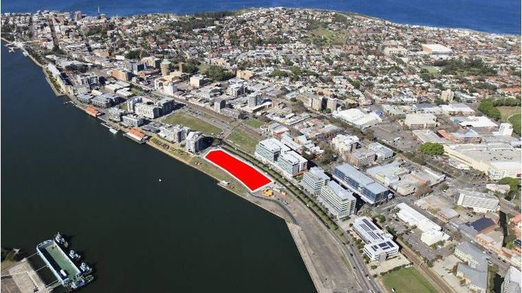 Three new buildings for Honeysuckle, in Newcastle's first harbourside construction in a decade