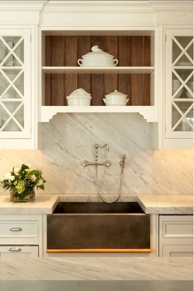 Wood marble and white