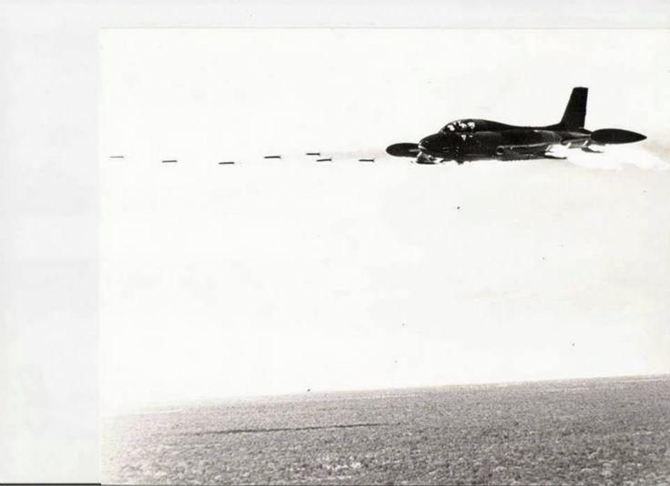 mp MK II Firing a salvo of 68 mm rockets