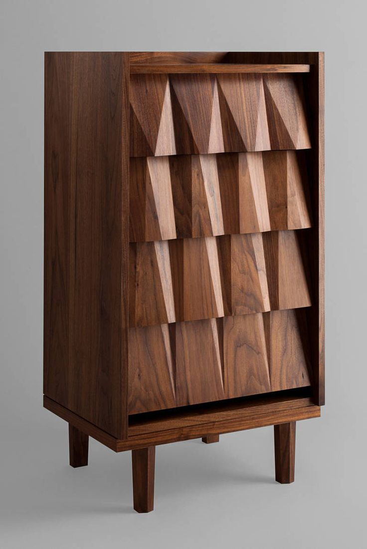 Pair of vintage danish rosewood and brushed steel side cabinets ref - Juglans Chest Of Drawers