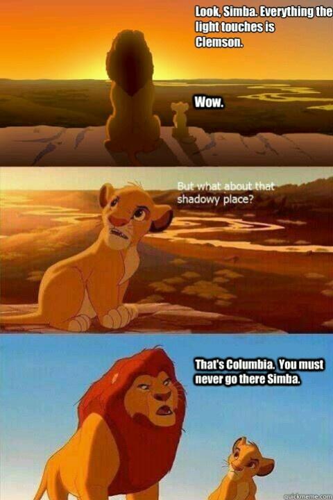 Hahahahahaha I LOVE THIS!!! Clemson humor