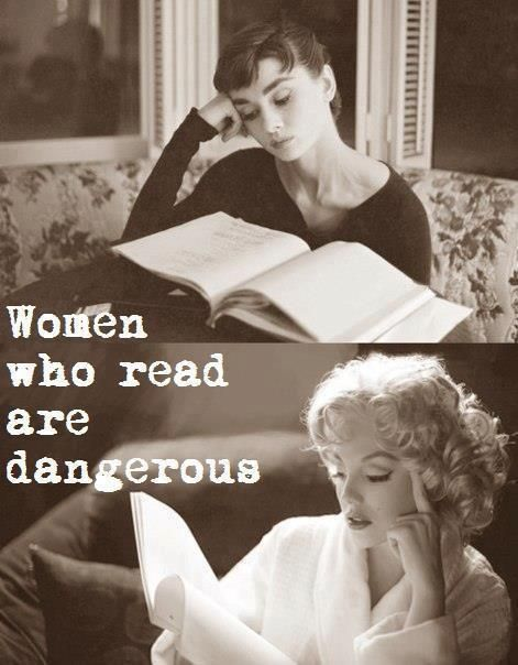 Women who read...