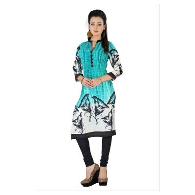 Buy TheEmpire Digital Print Satin And Georgette Kurti by The Empire, on Paytm, Price: Rs.777?utm_medium=pintrest