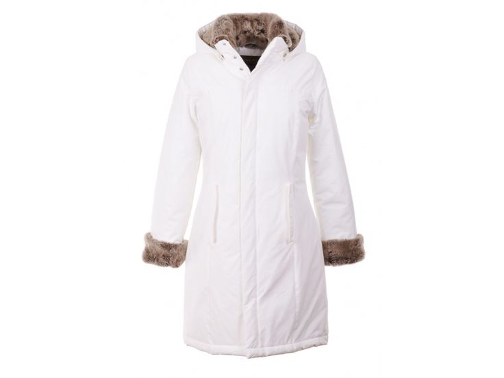 Woolrich Luxury Boulder Coat Womens White Outlet