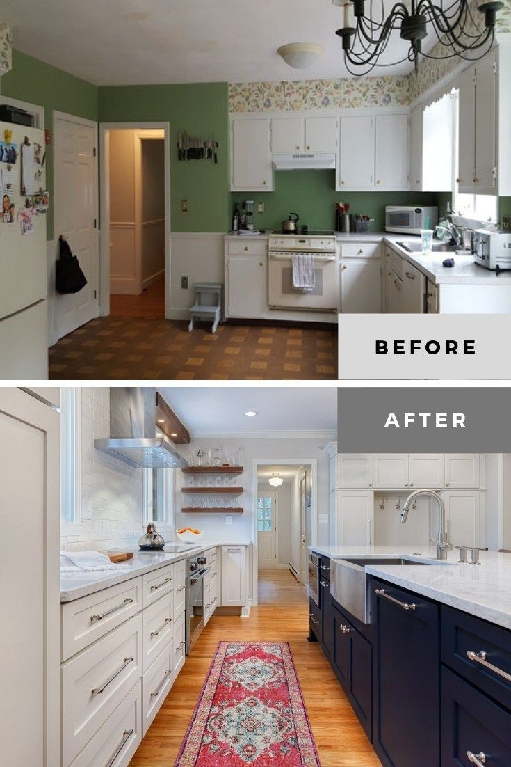 20 Excellent Kitchen Remodel Before And After Ideas In 2021 Kitchen Remodel Small Kitchen Remodel Colonial Kitchen Remodel
