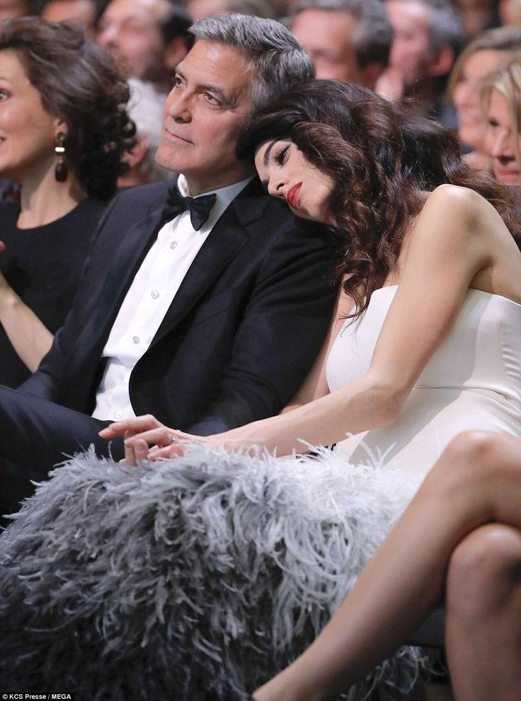 Adorable I remember how tired I was at this stage in my own pregnancy  Amal Clooney Woman of