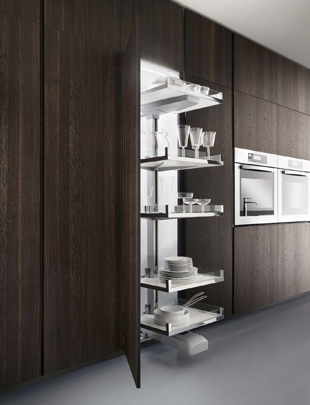 design kitchen italian%0A Let your mind wander on the lines and Italian modern design of One kitchens  by Ernestomeda