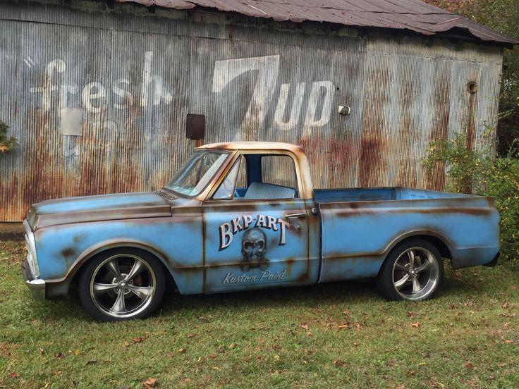 Patina C10 Shop Truck Bkp Art Shop Truck Pinterest