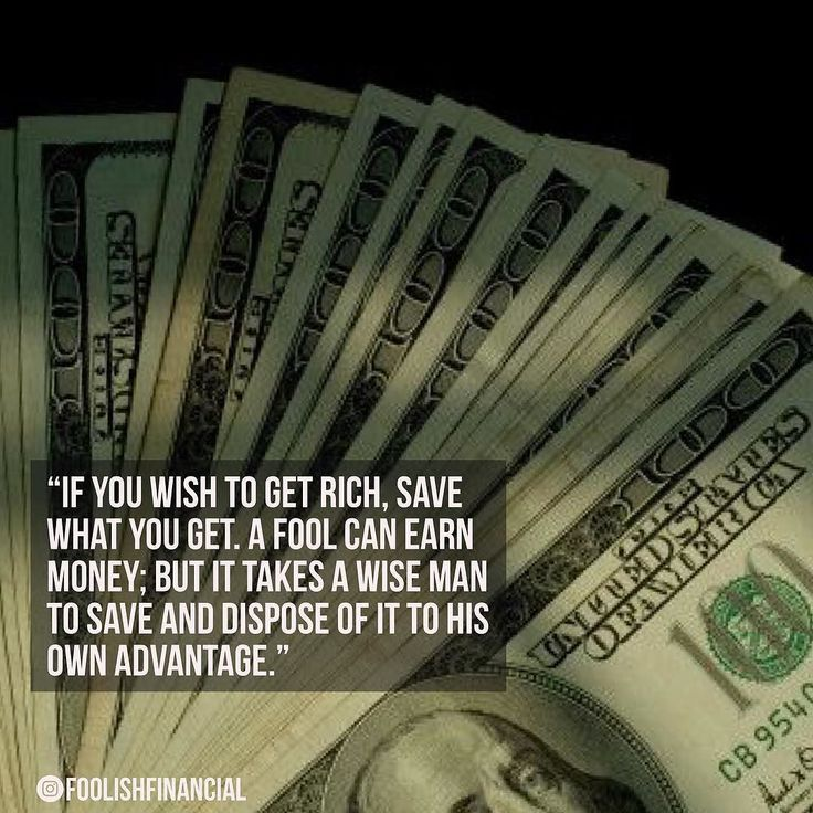 """""""If #you #wish to get #rich #save what you get. A #fool can #earn #money; but it #takes a #wise #man to save and #dispose of it to his own #advantage."""" #millionaire #quote #personalfinance #financialfreedom #financial #dollar #benjaminfranklin #cash"""