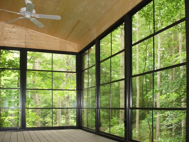 Eze Breeze Enclosed Porch Inside Carport Conversion