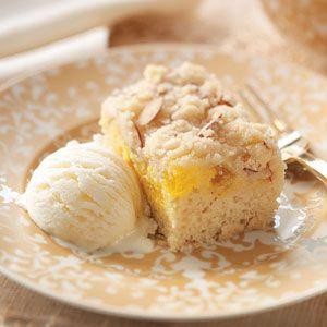 """Lemon Crumb Cake ~ """"Try this light, lip-smacking lemony cake for any springtime brunch or dinner."""""""