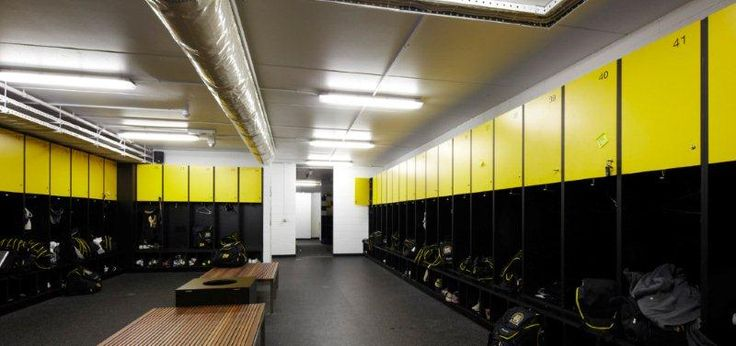 Richmond Football Club Locker Rooms Designed Using Egger