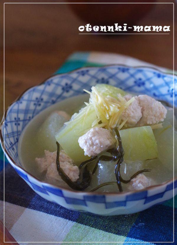 冬瓜と鶏ひき肉の葛煮 by お天気ママ | レシピサイト「Nadia ...