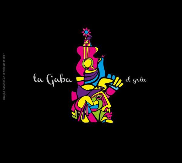 Diseño de logotipo y carátula disco para la cantautora Chilena LA GABA :)