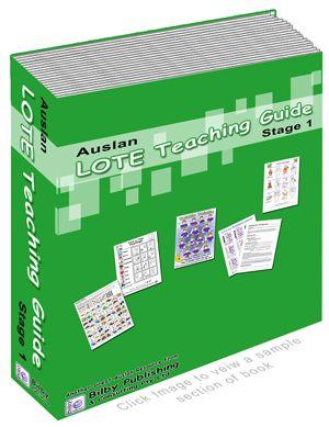 Auslan (Australian Sign Language) LOTE - Teaching Kits