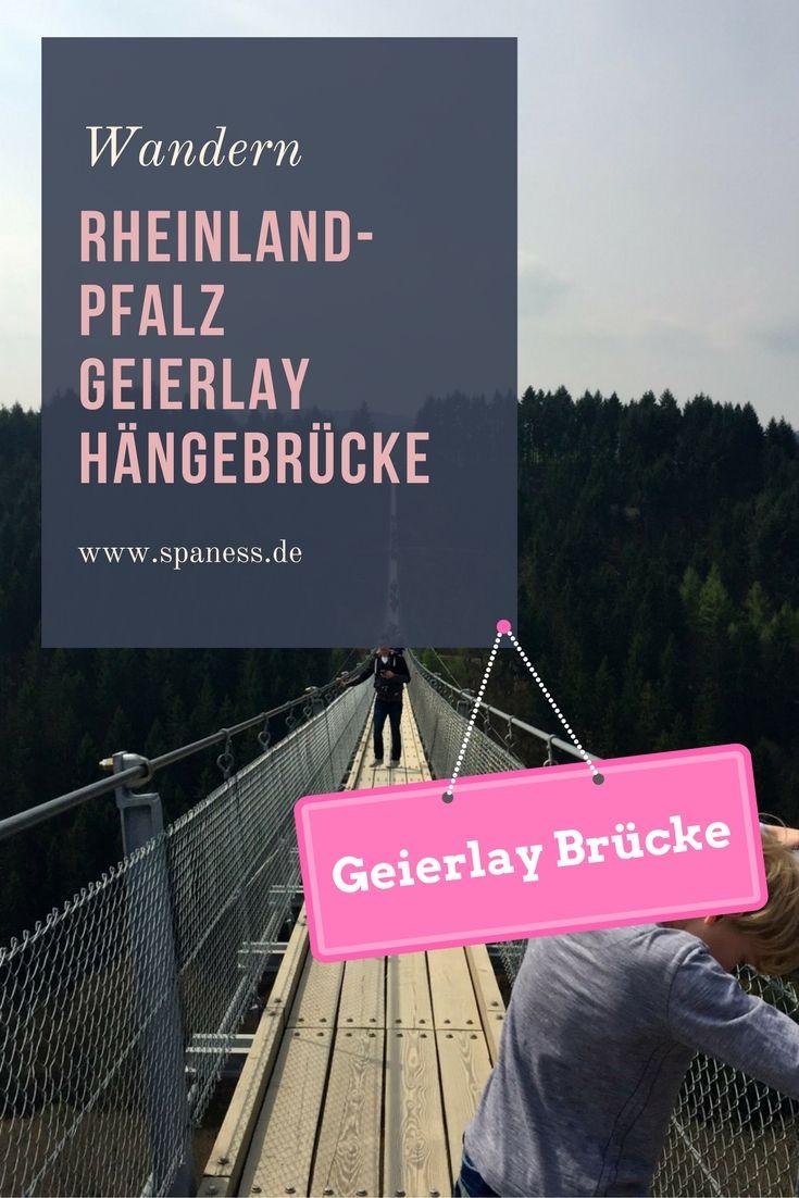 Geierlay Hängebrücke - Wandern Rheinland Pfalz