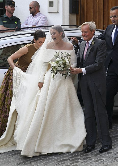 The 469 best celebrity wedding style inspiration images on pinterest lady charlotte wellesleys stunning spanish wedding brides junglespirit Gallery