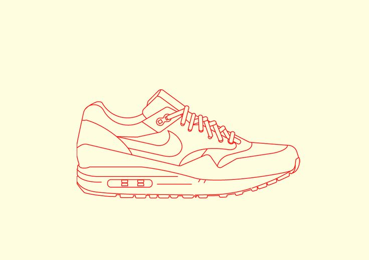 Phase 2: Nike Airmax 1 Illustration