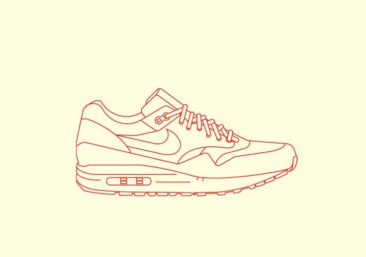 Phase 2: Nike Airmax 1 Illustration