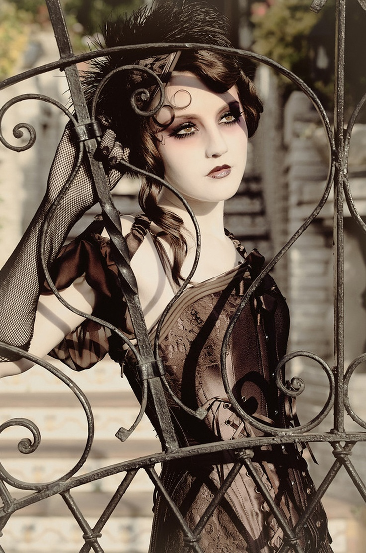 """I think I've pinned this before but one more time couldn't hurt. """"Lovelace Boudoir""""collection S/S 2011 by Bibian Blue"""