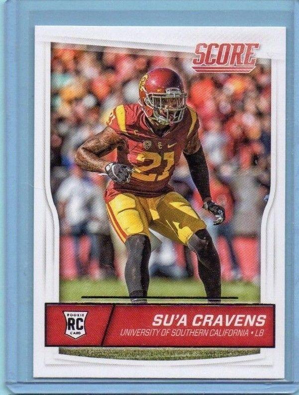 2016 Score Su'a Cravens Rookie #410 Washington Redskins Modern Original #WashingtonRedskins